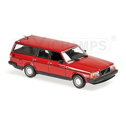 Volvo 240 GL Break 1986 Rouge Maxichamps 940171410