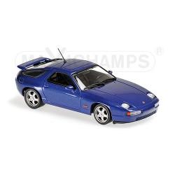 Porsche 928 GTS 1991 Bleue foncée Maxichamps 940068101