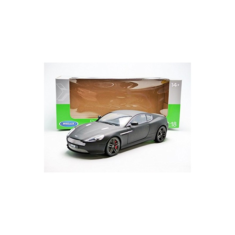 Aston Martin DB9 Coupe Noire Mat 2013 Welly 18045MBK