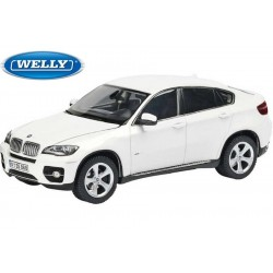 BMW X6 Blanc 2009 Welly 18031W