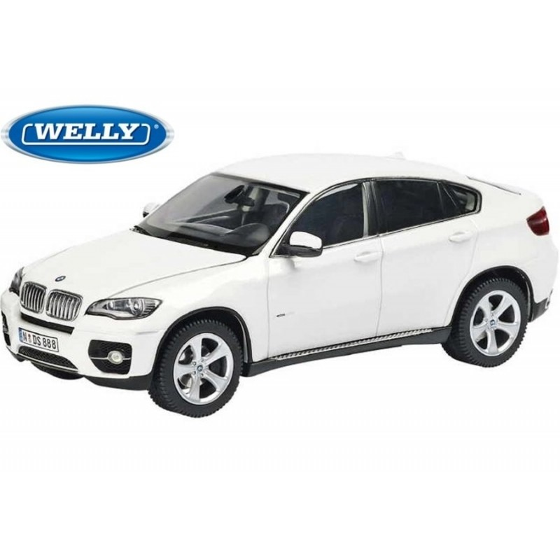 bmw x6 blanc 2009 welly 18031w miniatures minichamps. Black Bedroom Furniture Sets. Home Design Ideas