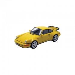 Porsche 964 Turbo / 965 Jaune 1992 Welly 18026Y
