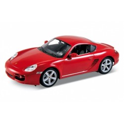 Porsche Cayman S Rouge 2005 Welly 18008R
