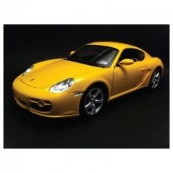 Porsche Cayman S Jaune 2005 Welly 18008Y