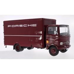 Camion Mercedes LP 608 Porsche Renndienst NZG PREMIUM 30040