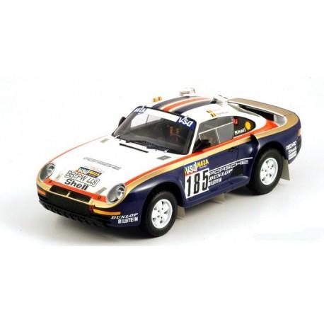 Porsche 959/50 185 Dakar Rally Raid 1986 Ickx Brasseur Truescale 111806