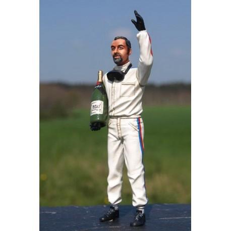 Figurine 1/18 Henri Pescarolo 1968 Le Mans Miniatures LM118006