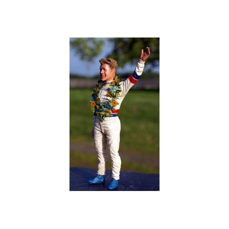 Figurine 1/18 Tom Kristensen 1997 Le Mans Miniatures LM118009