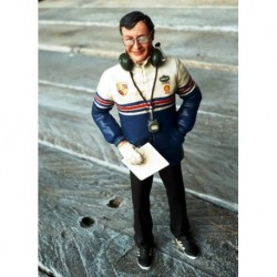 Figurine 1/18 Norbert Singer 1986 Le Mans Miniatures LM118011