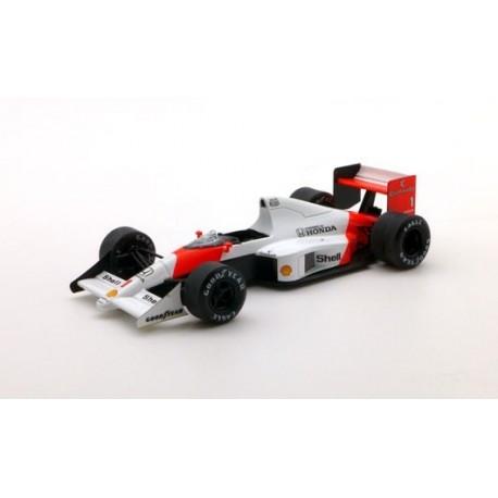McLaren Honda MP4/5 F1 Monaco 1989 Ayrton Senna Truescale TSM124331
