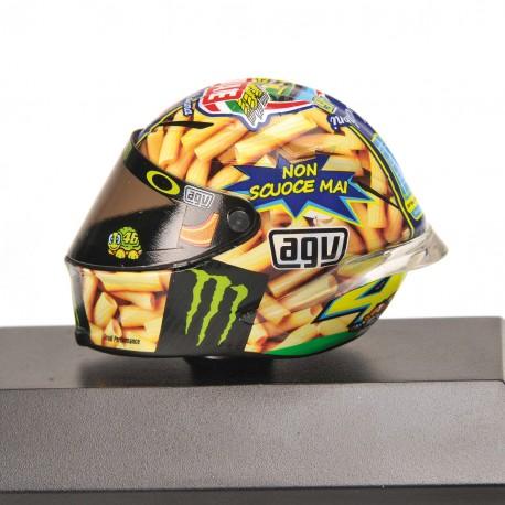 Casque 1/8 AGV Valentino Rossi Moto GP Mugello 2014 Minichamps 398140086