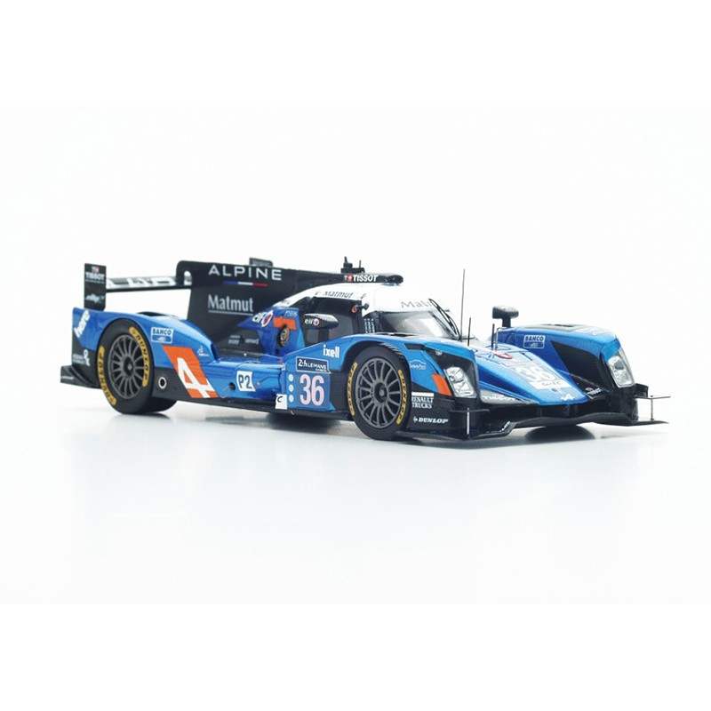 alpine a460 nissan 36 24 heures du mans 2016 spark s5119 miniatures minichamps. Black Bedroom Furniture Sets. Home Design Ideas