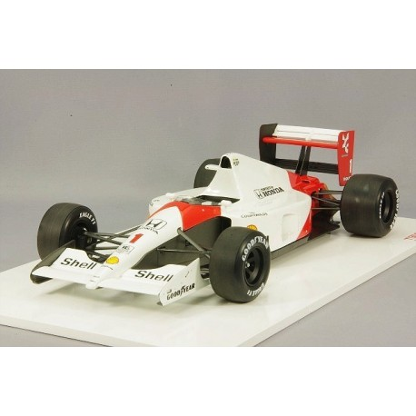 McLaren Honda MP4/6 F1 Japon 1991 Ayrton Senna Truescale TSM141819R