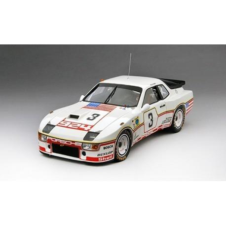 Porsche 924 Carrera GT 3 24 Heures du Mans 1980 Truescale TSM141825R