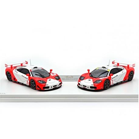 Set McLaren F1 GTR 4 Heures de Zhuhai 1996 Truescale TSM144332