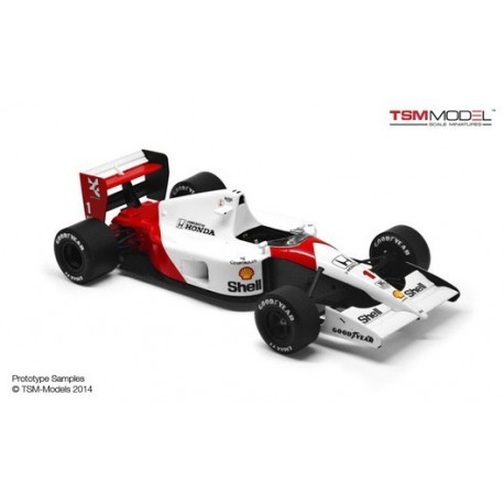 McLaren Honda MP4/6 F1 Japon 1991 Ayrton Senna Truescale TSM144334
