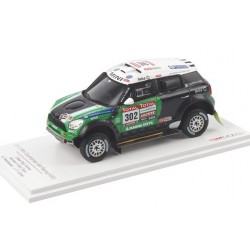 Mini Countryman All4 Racing 302 Paris Dakar 2012 Stéphane Peterhansel Truescale TSM144342