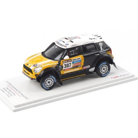 Mini Countryman All4 Racing 307 Paris Dakar 2013 Leonid Novitskiy Truescale TSM144344