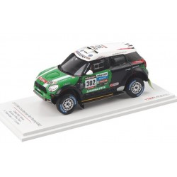 Mini Countryman All4 Racing 302 Paris Dakar 2013 Stéphane Peterhansel Truescale TSM144345