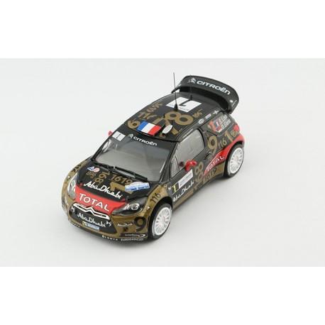 Citroen DS3 WRC Rallye de France 2013 Loeb Elena Norev 155361