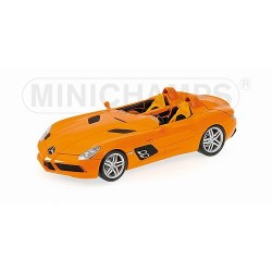 Mercedes SLR Stirling Moss Z199 2009 Orange Minichamps 100038400