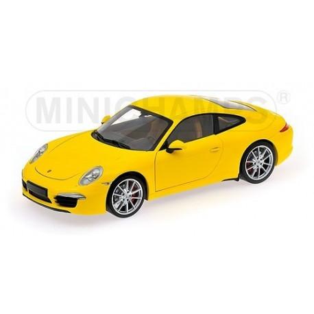 Porsche 991 Carrera S 2011 Jaune Minichamps 100061021