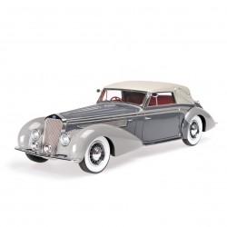 Delage D8-120 Cabriolet 1939 Grise Minichamps 107115134