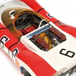 Porsche 908/02 Spyder 6 1000km du Nurburgring 1969 Minichamps 107692006