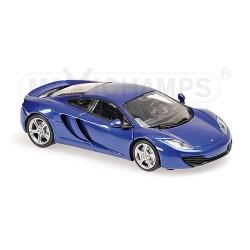 McLaren 12C 2011 Bleue Maxichamps 940133021