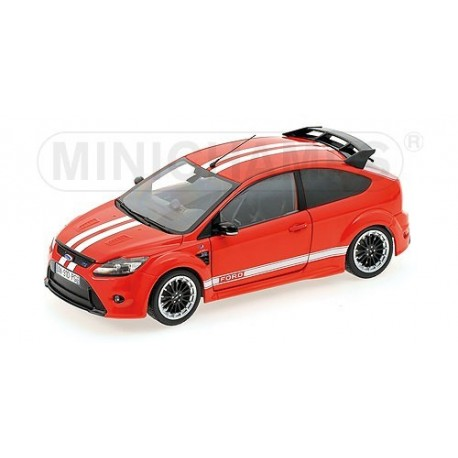 Ford Focus RS 2010 Rouge Le Mans Classic Edition Minichamps 100080067