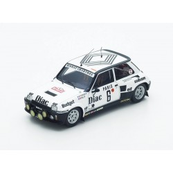 Renault 5 Turbo 6 Rallye de Monte-Carlo 1984 Therier - Vial Spark S3861