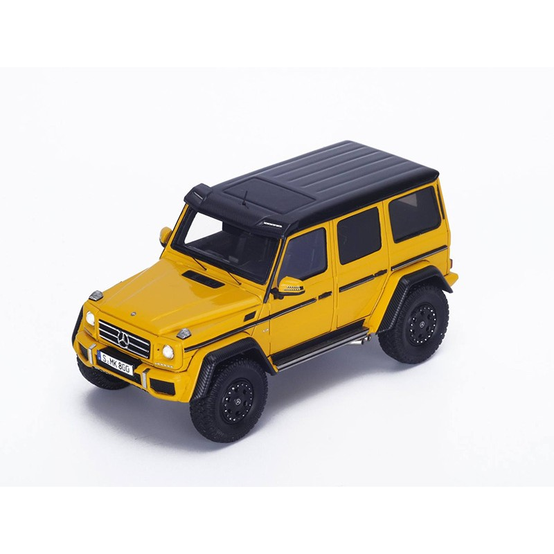 mercedes benz g 500 4x4 jaune de 2016 spark s4692 miniatures minichamps. Black Bedroom Furniture Sets. Home Design Ideas