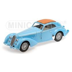 Alfa Romeo 8C 2900 B Lungo 1938 Bleue Minichamps 100120420