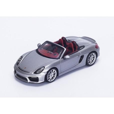 Porsche Boxster Spyder Grise de 2015 Spark S4931