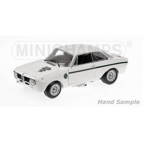 Alfa Romeo GTA 1300 Junior 1972 Blanche Minichamps 100120501