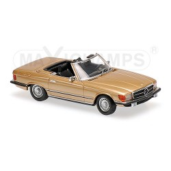 Mercedes-Benz 350 SL 1974 Gold Maxichamps 940033431