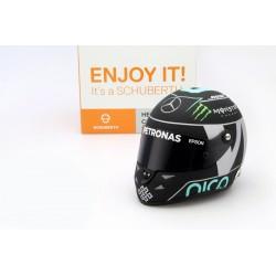 Casque 1/2 Nico Rosberg F1 2016 Schuberth