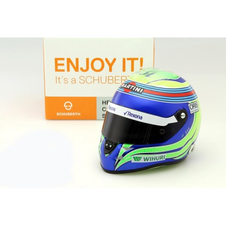 Casque 1/2 Felipe Massa F1 2016 Schuberth