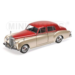Bentley S2 1960 Silver Red Minichamps 100139950