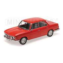 BMW 1800 TI 1965 Rouge Minichamps 107024001