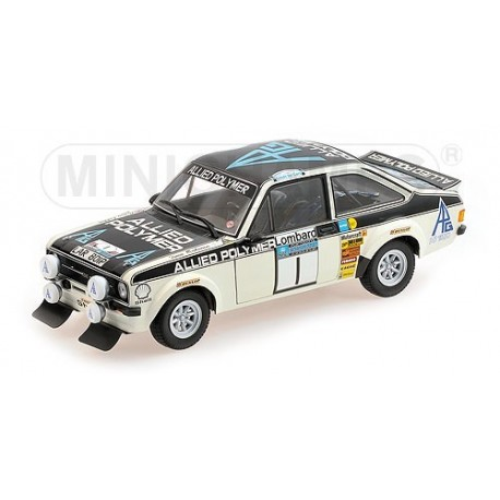 Ford Escort II RS1800 1 RAC Rally 1975 Makinen Liddon Minichamps 100758401