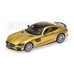 Brabus 600 AMG GTS 2016 Gold Minichamps 437032522