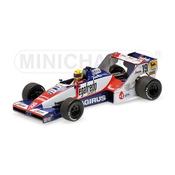 Toleman Hart TG 183B F1 Brésil 1984 Ayrton Senna Minichamps 540844339
