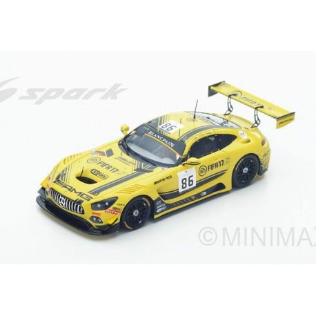 Mercedes AMG GT3 86 24 Heures de Spa-Francorchamps 2016 Spark SB125