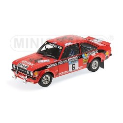 Ford Escort II RS1800 6 RAC Rally 1976 Clark Pegg Minichamps 100768406