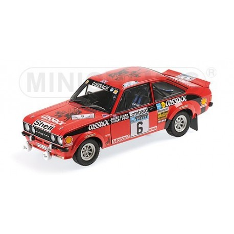 Ford Escort II RS1800 6 RAC Rally 1976 Clark Pegg Minichamps 100768406