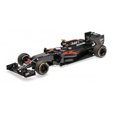 McLaren Honda MP4/31 F1 2016 Jenson Button Minichamps 537161822