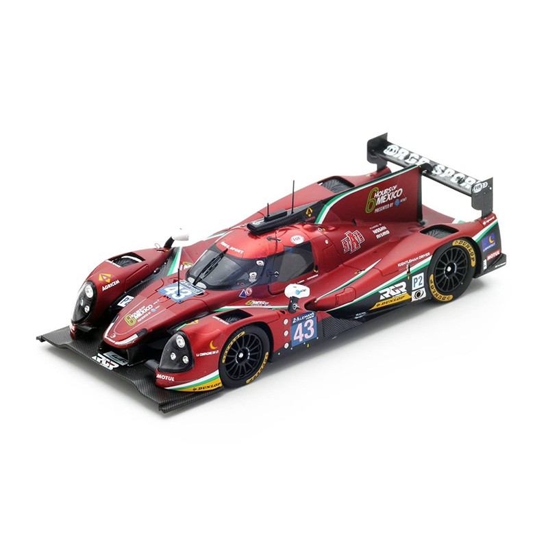 ligier js p2 nissan 43 24 heures du mans 2016 spark s5125 miniatures minichamps. Black Bedroom Furniture Sets. Home Design Ideas