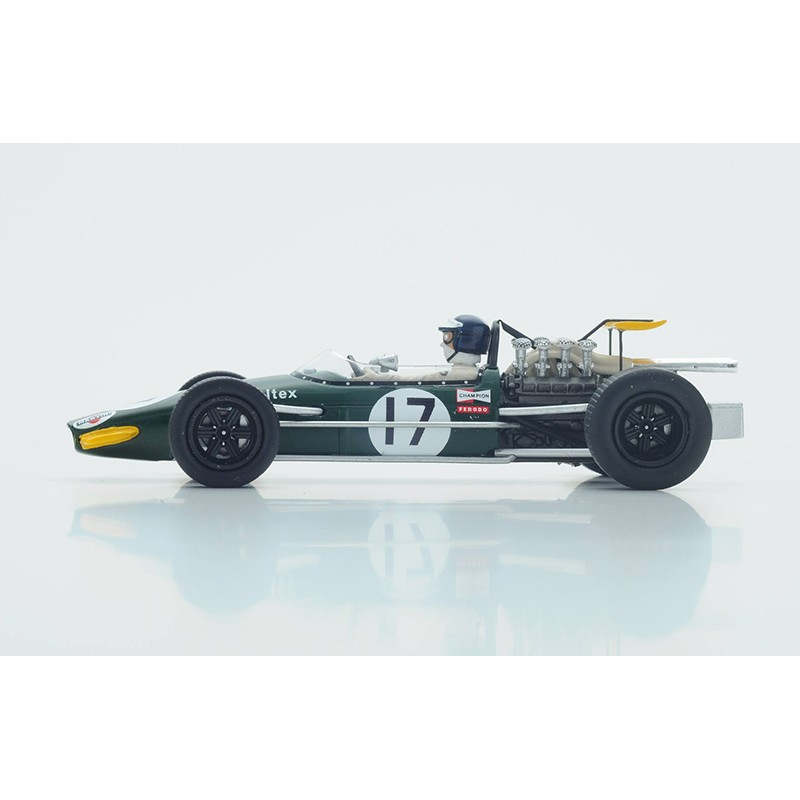 brabham bt24 f1 allemagne 1968 kurt ahrens spark s4780 miniatures minichamps. Black Bedroom Furniture Sets. Home Design Ideas