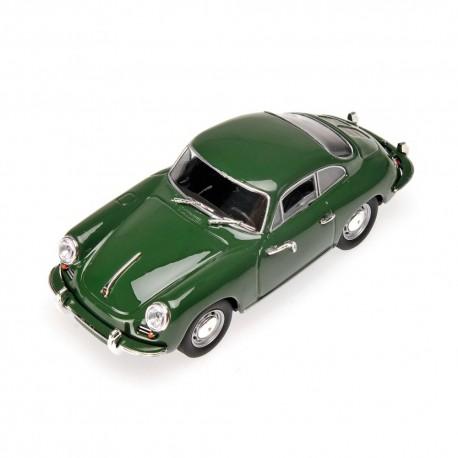 Porsche 356 C Coupe 1963 Verte Minichamps 430062329